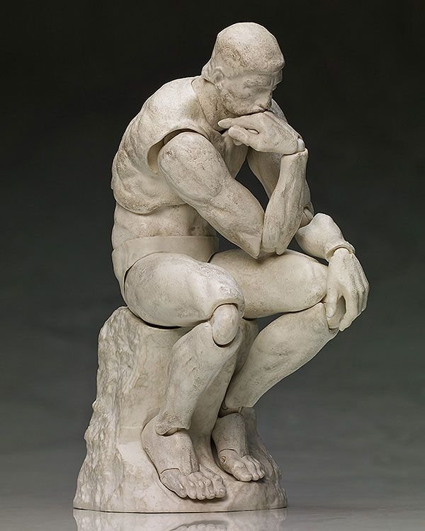 [ENCOMENDA] The Table Museum The Thinker Plater ver FREEing Figma ORIGINAL