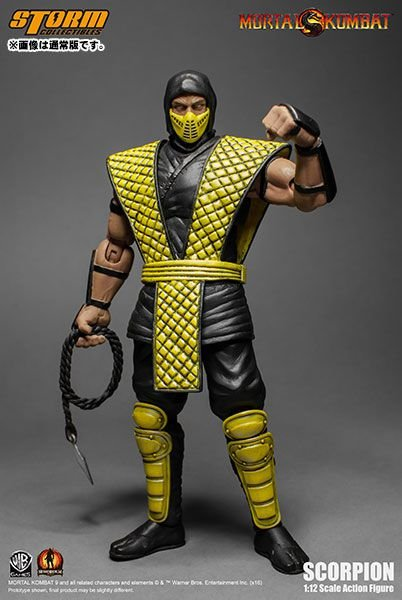 [ENCOMENDA] Scorpion Mortal kombat Storm Collectibles Original