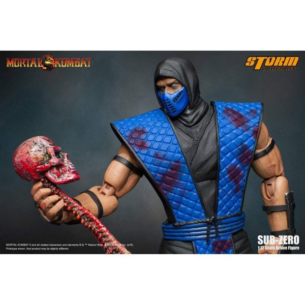 [ENCOMENDA] Sub-Zero Mortal kombat Storm Collectibles Special Edition Original