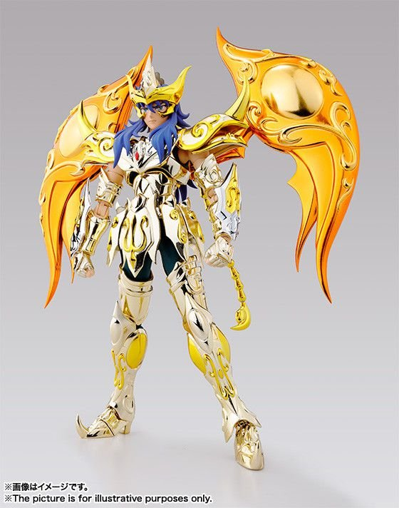 [ENCOMENDA] Scorpio Milo Cavaleiros do Zodiaco Saint Seiya Soul of Gold Bandai Cloth Myth EX Original