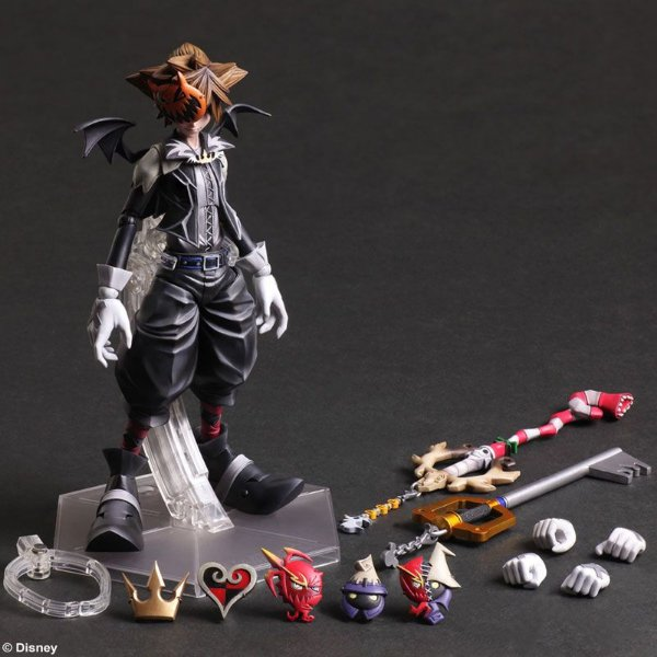 [ENCOMENDA] Sora Halloween Town Kingdom Hearts Play arts Kai Square Enix original