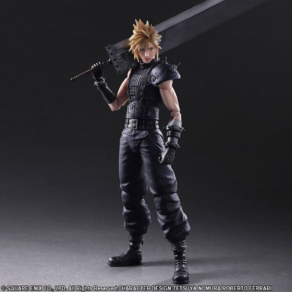 Cloud Strife Final Fantasy VII Remake Play Arts Kai No.1 Square Enix Original