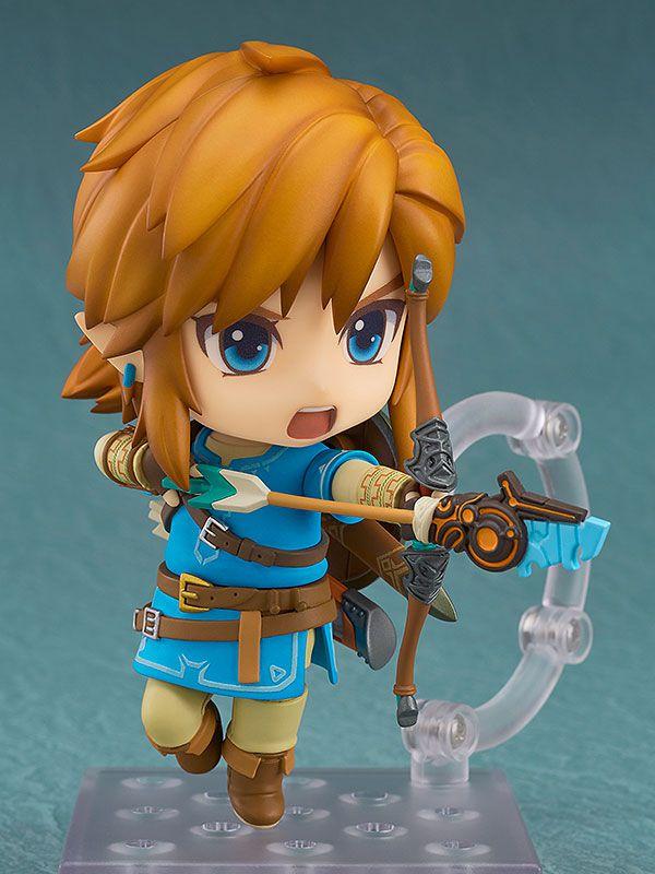 [ENCOMENDA] Link The Legend of Zelda: Link Breath of the Wild Ver. regular Edition Nendoroid Original