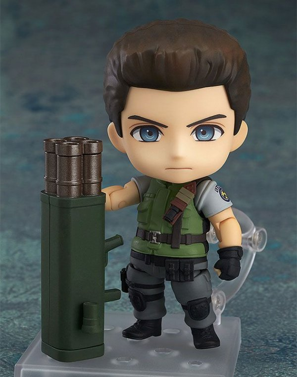 Chris Redfield Resident Evil Nendoroid Good Smile Company Original