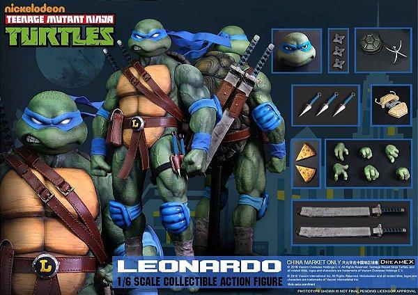 Leonardo Tartarugas Ninja 1/6 Dreamex Nickelodeon Original