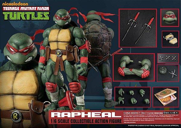 Raphael Tartarugas Ninja Dreamex Nickelodeon Original