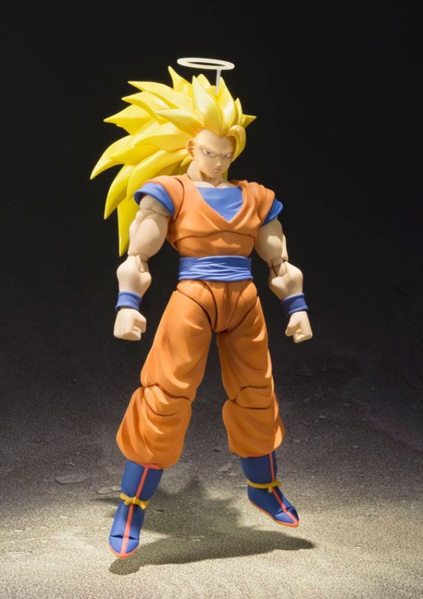 Son Goku Super Saiyan 3 S.H. Figuarts Dragon Ball Z Bandai original