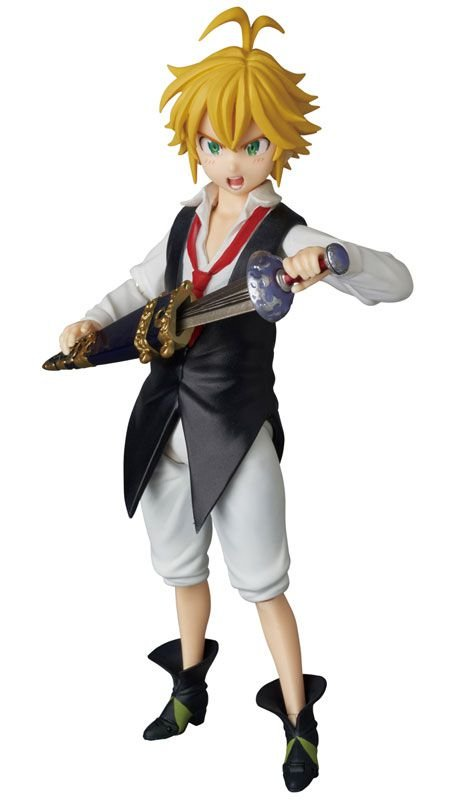 Meliodas The Seven Deadly Sins (Nanatsu no Taizai) Mafex No.014 Medicom Toy original