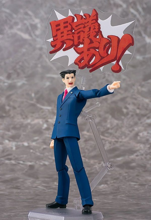 Phoenix Wright Ace Attorney Figma Phat Company Original
