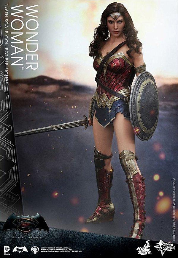 Mulher Maravilha Batman vs Superman DC Comics Movie Masterpiece Hot Toys Original