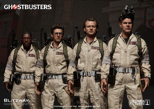 Peter Venkman + Raymond Stantz + Egon Spengler + Winston Zeddemore Ghostbusters Blitzway Original edição especial