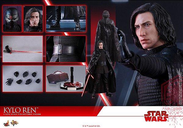 Kylo Ren Star Wars The Last Jedi Movie Masterpiece Hot Toys Original