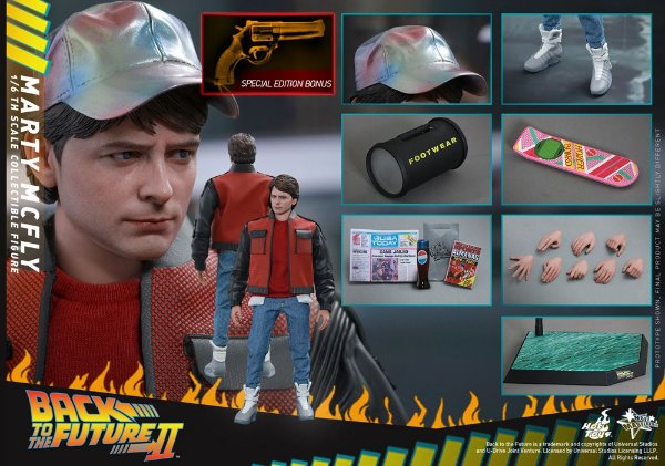 [ENCOMENDA] Marty McFly De volta para o futuro II Hot Toys Special Edition Original