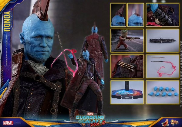 Youndu Guardiões da Galaxia Vol.2 Movie Masterpiece Hot Toys Original