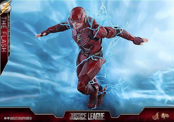 Flash Liga da Justiça DC Comics Movie Masterpiece Hot Toys Original