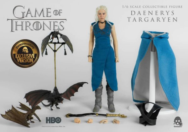 [PRÉ-VENDA] Daenerys Game of Thrones Threezero 1/6 Original versão exclusiva