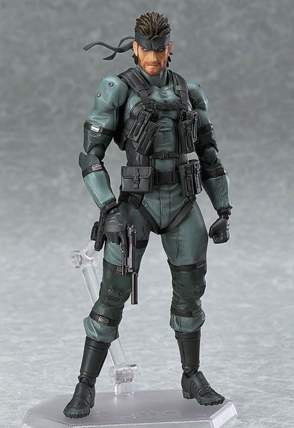 Solid Snake Metal Gear Solid 2 Sons of Liberty Figma Max Factory Original