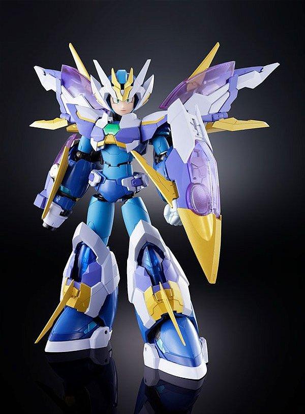 Mega Man X GIGA ARMOR X Chogokin Bandai Original