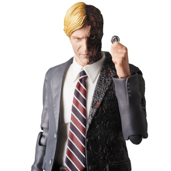 Harvey Dent Batman The Dark Knight MAFEX No.054 Medicom Toy Original