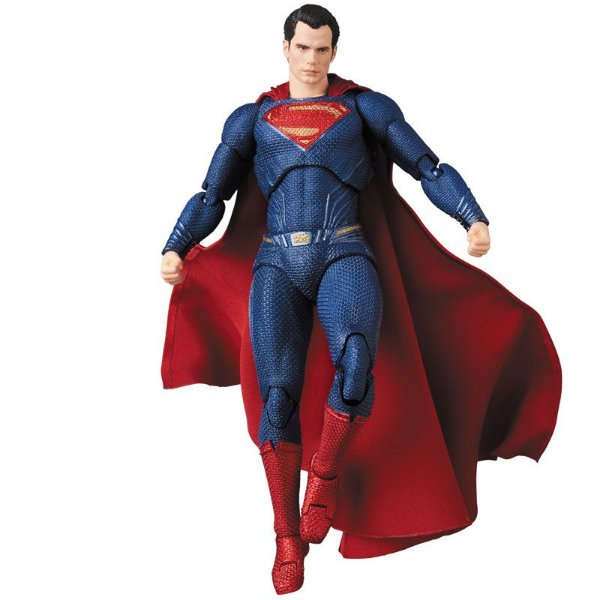Superman Liga da Justiça MAFEX No.057 Medicom Toy Original