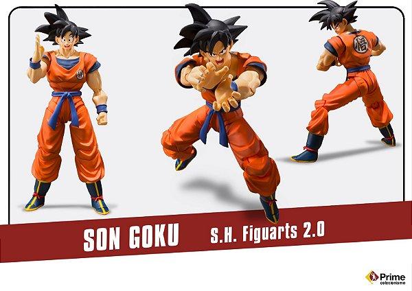 Son Goku versão 2.0 Dragon Ball Z S.H. Figuarts Bandai Original
