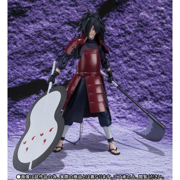 Uchiha Madara Naruto Shippuuden S.H. Figuarts Bandai Original