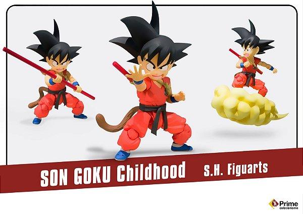 Son Goku Childhood S.H. Figuarts Bandai Original
