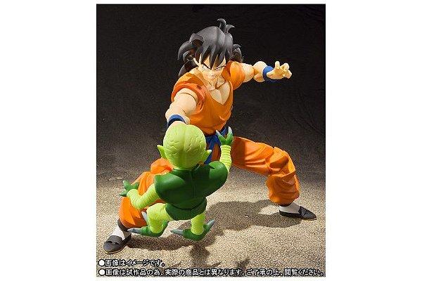 Yamcha e Saibaman Dragon Ball Z S.H. Figuarts Bandai Original