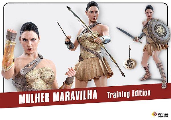 Mulher Maravilha Training Armor Version Movie Masterpiece Hot toys original