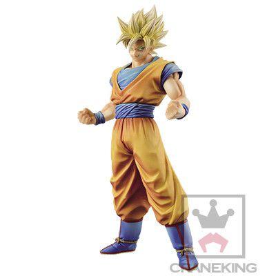 Goku Super Sayajin Dragon Ball Z King of Coloring Master Stars Piece Banpresto original