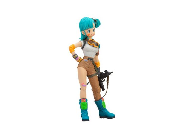 Bulma Dragon Ball Scultures 4 Banpresto original