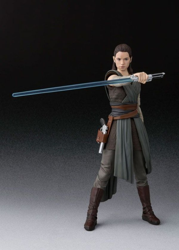 Rey Star Wars The Last Jedi S.H. Figuarts Bandai Original
