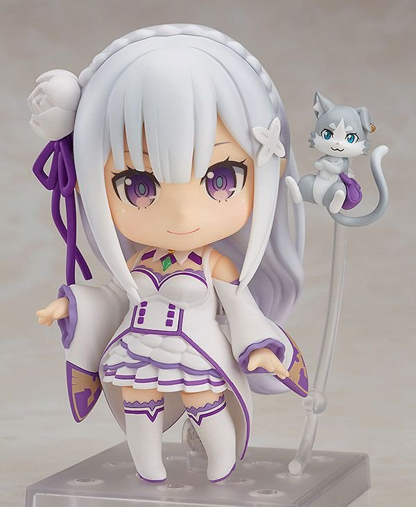 Emilia Re:ZERO Starting Life in Another World Nendoroid Good Smile Company Original