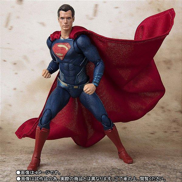 Superman S.H. Figuarts Liga da Justiça Bandai Original