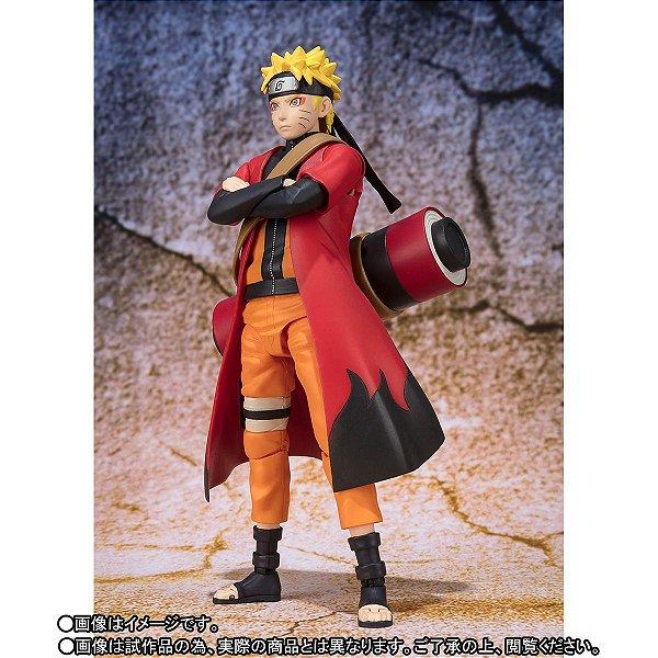 Naruto Uzumaki Sennin Mode Naruto Shippuuden S.H. Figuarts Bandai Original