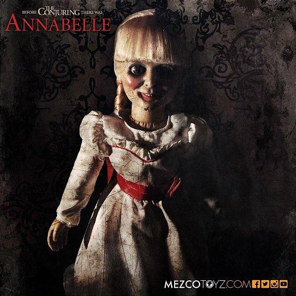 Annabelle The Conjuring Prop Replica Doll Mezco Toyz Original