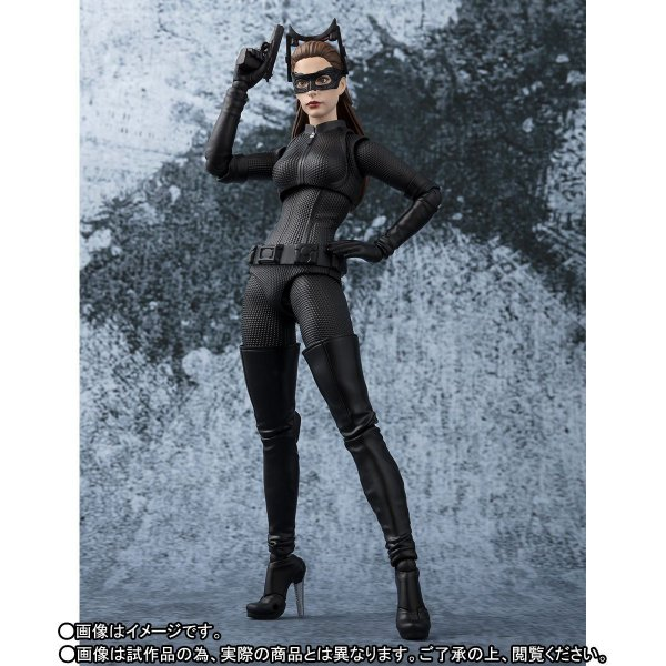 Mulher Gato Batman The Dark Knight Rises S.H. FIguarts Bandai Original