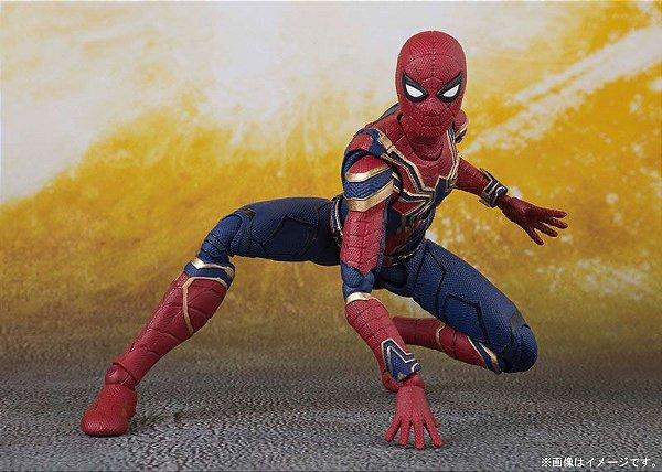Homem Aranha de Ferro Vingadores Guerra infinita Marvel S.H. Figuarts Bandai Original