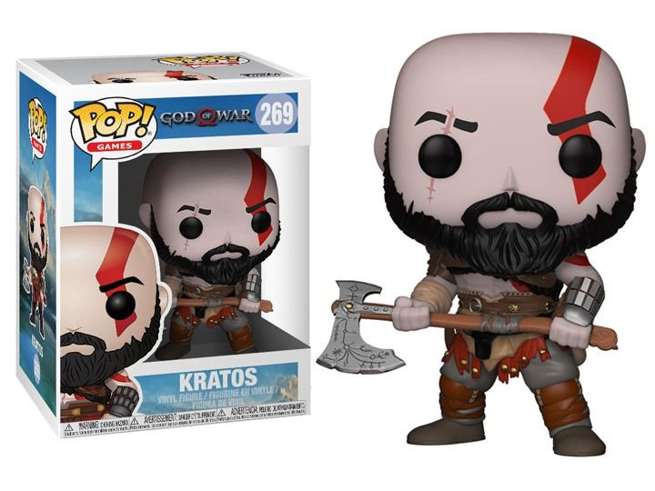 Kratos God of War 4 Funko Pop Games Original
