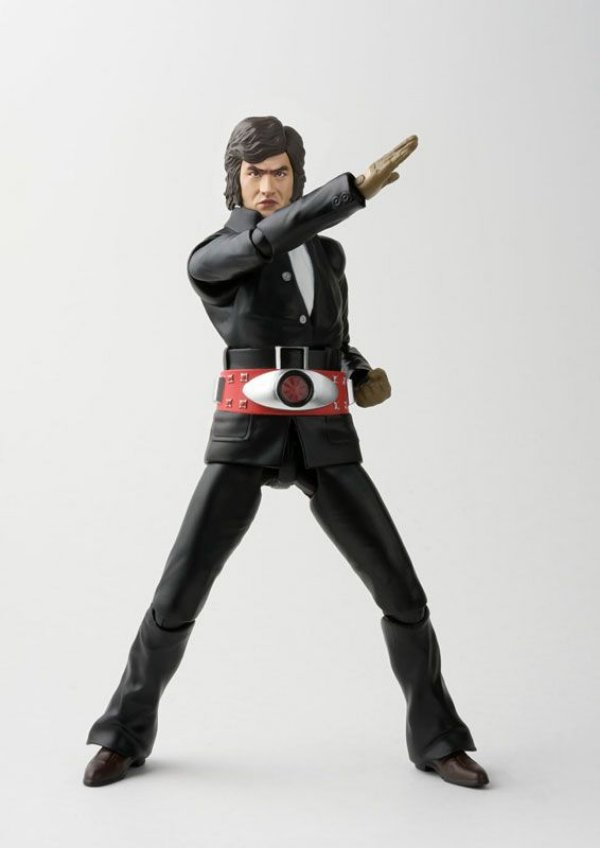 Takeshi Hongo Kamen Rider S.H. Figuarts Bandai Original