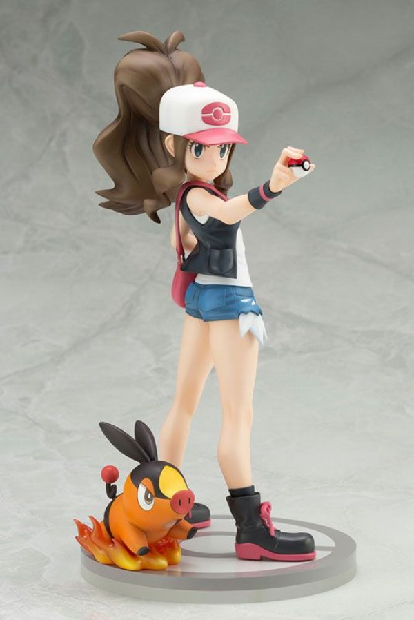 Hilda with Tepig Pokemon ARTFX J Kotobukiya Original