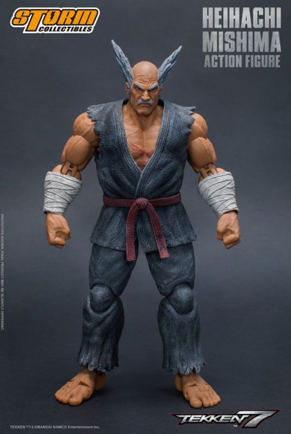 Heihachi Mishima Tekken 7 Storm Collectibles Original