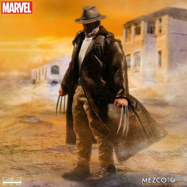 Wolverine Old Man Logan Marvel Universe ONE:12 Collective Mezco Original