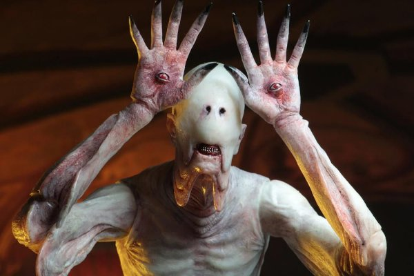 Pale Man Pan's Labyrinth Guillermo del Toro Neca Original