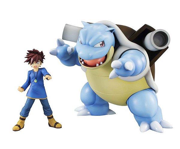 Gary & Blastoise Pokémon G.E.M. Series Megahouse original