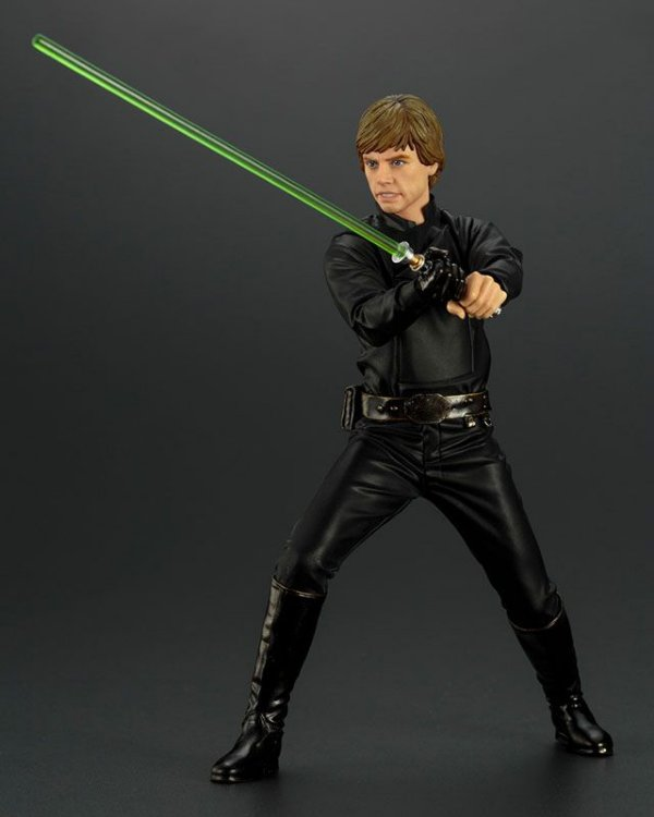 Luke Skywalker Star Wars O retorno do Jedi ARTFX+ 1/10 Easy Assembly Kit Kotobukiya Original