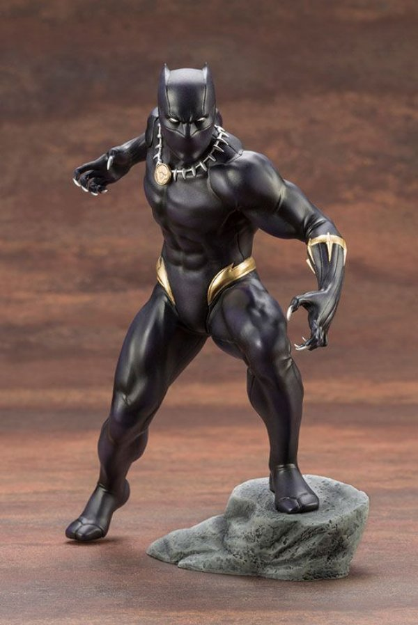 Pantera negra Marvel Universe ARTFX+ 1/10 Easy Assembly Kit Kotobukiya Original