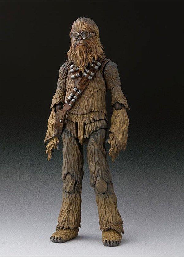 Chewbacca Solo Uma historia Star Wars S.H. Figuarts Bandai Original