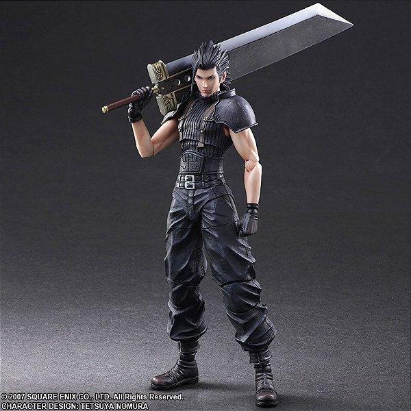 Zack Crisis Core Final Fantasy VII Play Arts Kai Square Enix Original