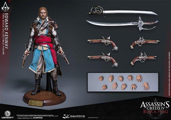 Edward Kenway Assassin's Creed IV Damtoys escala 1/6 original